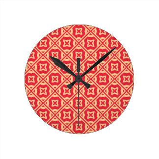 Motif décoratif élégant pendule