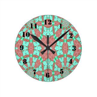 Motif décoratif horloge ronde