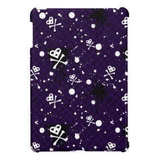 Motif d'Emo de couleur foncée avec la peinture Coque Pour iPad Mini