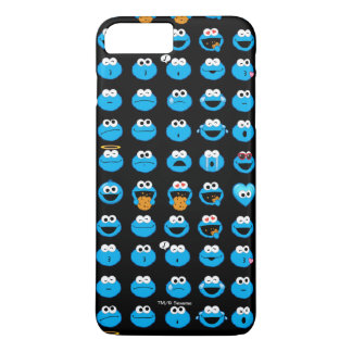 Motif d'Emoji de monstre de biscuit Coque iPhone 7 Plus