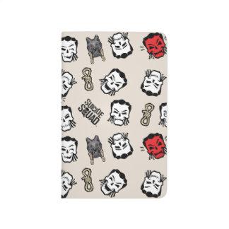 Motif d'Emoji de noeud coulant du peloton   de Carnet De Poche