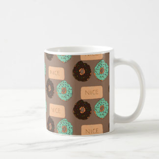 Motif des beignets et des biscuits bons mug