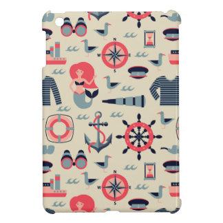 Motif d'espèce marine coques pour iPad mini