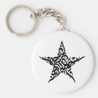 Motif d'étoile de Bismillah Porte-clés