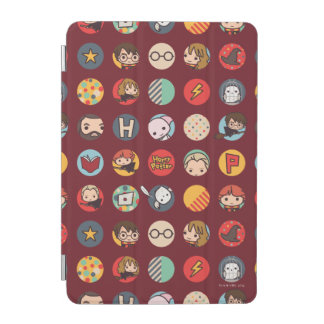 Motif d'icônes de bande dessinée de Harry Potter Protection iPad Mini