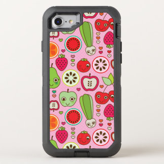 motif d'illustration de cuisine de fruit coque otterbox defender pour iPhone 7