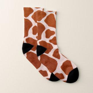 Motif d'impression de girafe