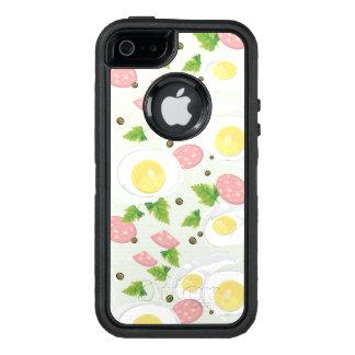 Motif d'oeufs et de saucisse coque OtterBox iPhone 5, 5s et SE