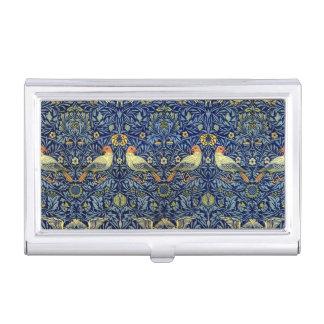 Motif d'oiseau de William Morris Porte-cartes De Visite