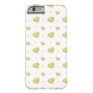 Motif d'or de diamant coque barely there iPhone 6