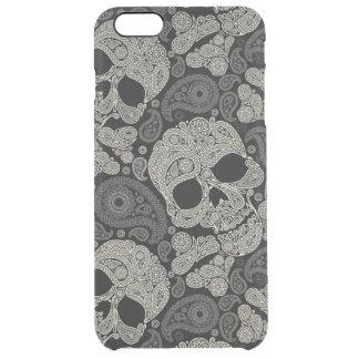 Motif d'os croisés de crâne de sucre coque iPhone 6 plus