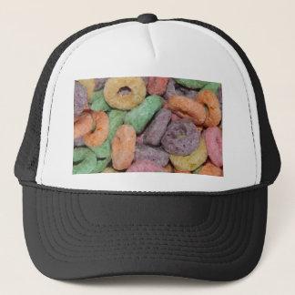 Motif drôle de nourriture de céréale d'amusement casquette