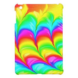 Motif du résumé 3D coloré par arc-en-ciel Coque iPad Mini