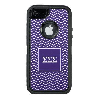 Motif du sigma | Chevron de sigma de sigma Coque OtterBox iPhone 5, 5s Et SE