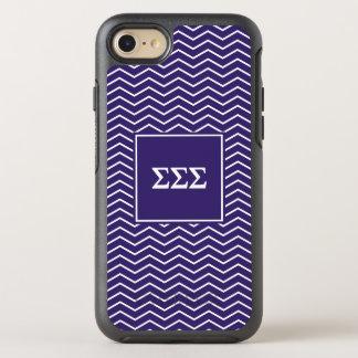 Motif du sigma | Chevron de sigma de sigma Coque Otterbox Symmetry Pour iPhone 7