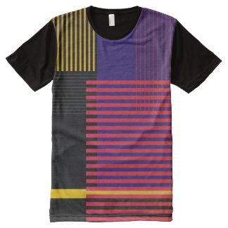Motif élégant de Suprematic T-shirt Tout Imprimé