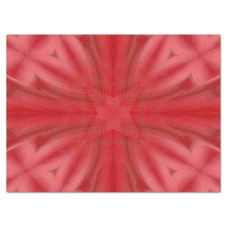 Motif en bois abstrait de rouge papier mousseline