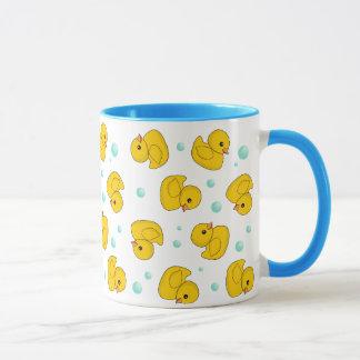 Motif en caoutchouc de canard mug
