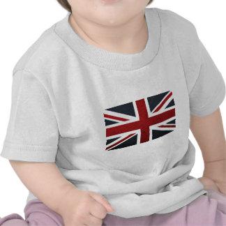 Motif en cuir Union Jack les Anglais (R-U) Fla de  T-shirts