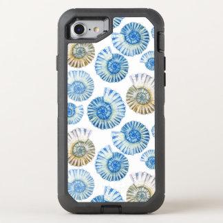 Motif en pastel 2 de coquillage coque otterbox defender pour iPhone 7