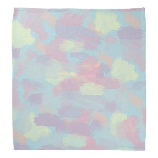 motif en pastel coloré de traçages d'été mignon bandanas