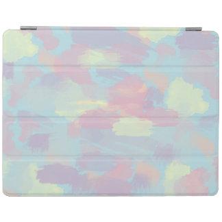 motif en pastel coloré de traçages d'été mignon protection iPad