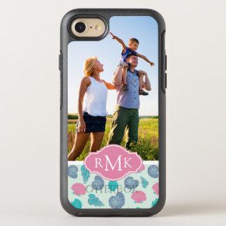 Motif en pastel | de coquillage votre photo et coque otterbox symmetry pour iPhone 7