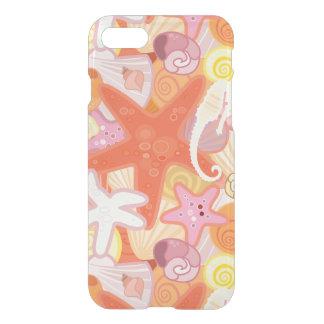 Motif en pastel de créature de mer coque iPhone 7
