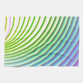 Motif en pastel de rayures d'arrière - plan de linges de cuisine