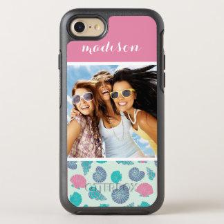 Motif en pastel | de voilier votre photo et nom coque otterbox symmetry pour iPhone 7