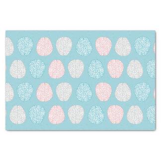 Motif en pastel intelligent (cerveaux en pastel papier mousseline