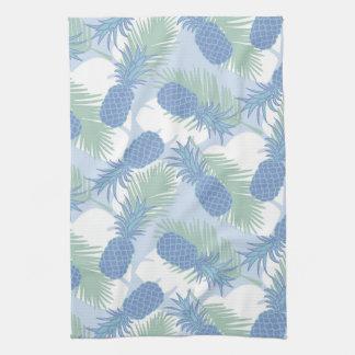 Motif en pastel tropical d'ananas serviette pour les mains