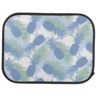 Motif en pastel tropical d'ananas tapis de voiture