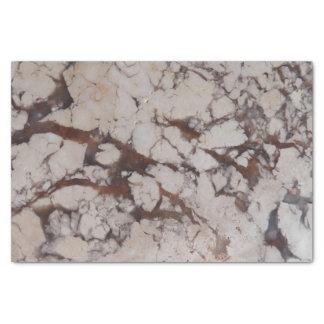 Motif en pierre de marbre papier mousseline