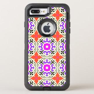 Motif ethnique avec des motifs marocains coque otterbox defender pour iPhone 7 plus