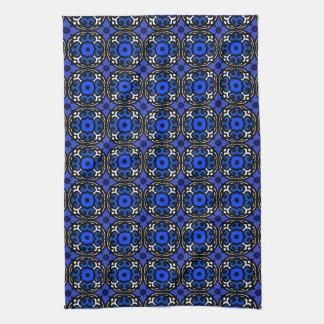 Motif ethnique avec des motifs turcs serviettes éponge