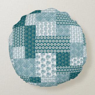 coussins motif de patchwork. Black Bedroom Furniture Sets. Home Design Ideas
