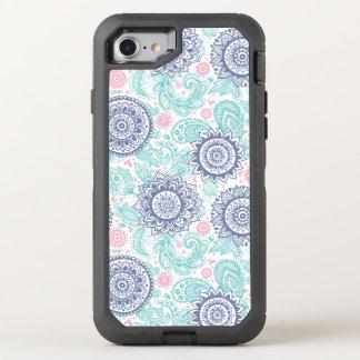 Motif ethnique de Paisley Coque OtterBox Defender iPhone 8/7