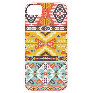 Motif ethnique de vecteur dans le style mexicain iPhone 5 case