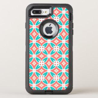 Motif ethnique multicolore coque otterbox defender pour iPhone 7 plus