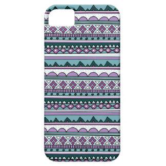 Motif ethnique pourpre coques Case-Mate iPhone 5