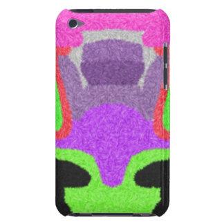 Motif étrange multicolore coque iPod Case-Mate