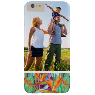 Motif fait sur commande de Strelitzia de photo Coque Barely There iPhone 6 Plus