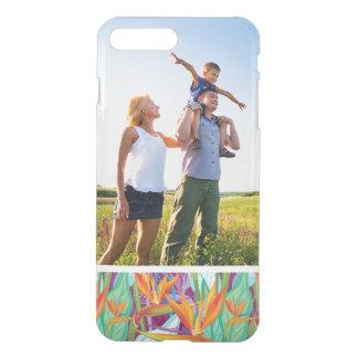Motif fait sur commande de Strelitzia de photo Coque iPhone 7 Plus
