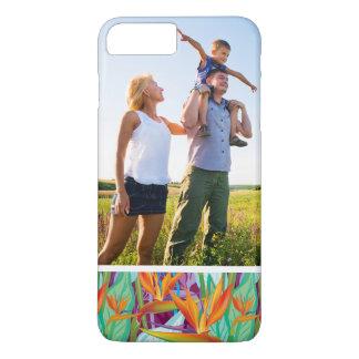 Motif fait sur commande de Strelitzia de photo Coque iPhone 8 Plus/7 Plus