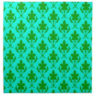 102 motif vert clair en tissu serviettes zazzle - Serviette en papier vert fonce ...