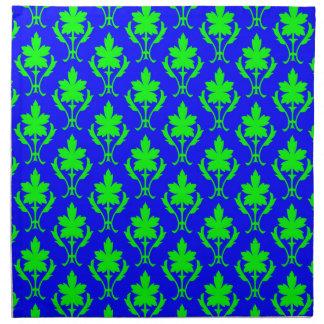 100 motif vert clair en tissu serviettes zazzle - Serviette en papier vert fonce ...