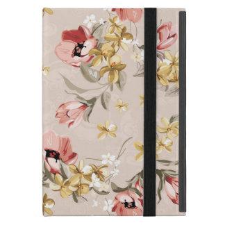 Motif floral 3 d'élégance abstraite protection iPad mini