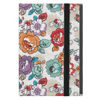 Motif floral 5 d'élégance abstraite protection iPad mini