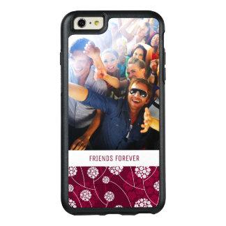 Motif floral abstrait fait sur commande de photo coque OtterBox iPhone 6 et 6s plus